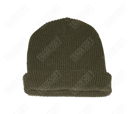 Mil-Tec Wool Hat, OD (US Watch Cap)