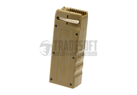 Odin Innovations M12 Sidewinder BB Speed Loader, Dark Earth (1600 Rounds)