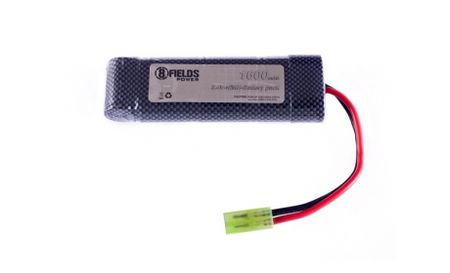 8 Fields 8.4V 1600mAh NiMH Mini Type Battery, Tamiya Mini Connector