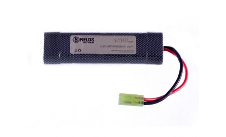 8 Fields 9.6V 1600mAh NiMH Mini Type Battery, Tamiya Mini Connector