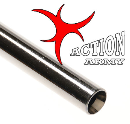 Action Army 6.03mm Steel Coated Precision Inner Barrel for AEG and GBB guns (500mm)