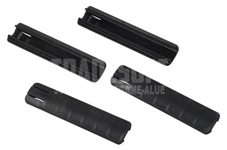 ACM Tango 2 RIS Rail Covers (155mm) 4pcs, Black