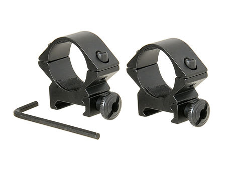 ACM Low Scope Ring Mounts, 25mm