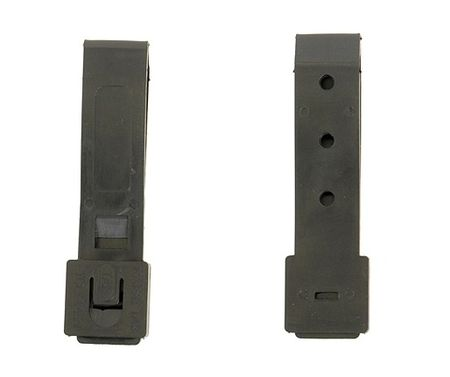 ACM Small Malice Clip for MOLLE Pouches, Black (2 pieces)