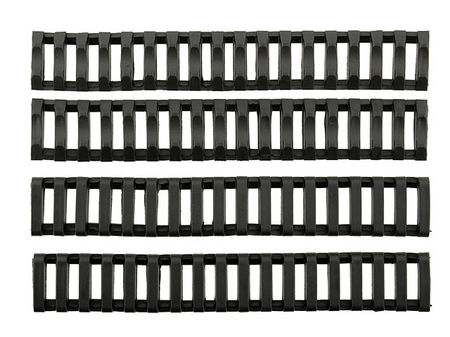 Big Dragon RIS Rubber Ladder Rail Covers, Black, 4pcs