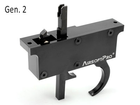 AirsoftPro 90 Degree Metal Trigger Group Assembly Gen. 2 for L96 Series (MB-01/04/05/08)