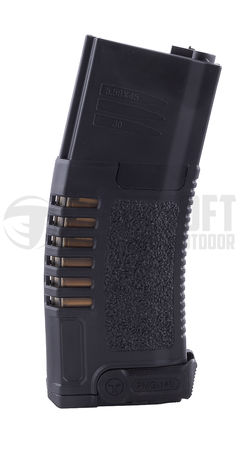 ARES Amoeba Mid-Cap Magazine for M4/M16 Series, Black (120 Rounds)