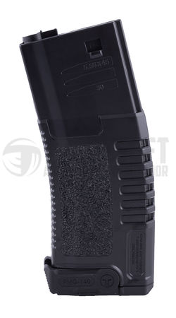 ARES Amoeba Sportsline Mid-Cap Magazine for M4/M16 Series, Black (140 Rounds)