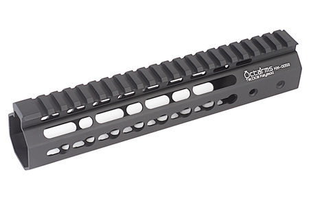 ARES Octarms Aluminum KeyMod RAS Rail for M4/M16 Series, Black (9 Inches)