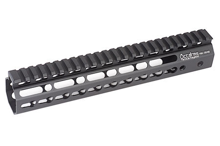 ARES Octarms Aluminum KeyMod RAS Rail for M4/M16 Series, Black (10 Inches)