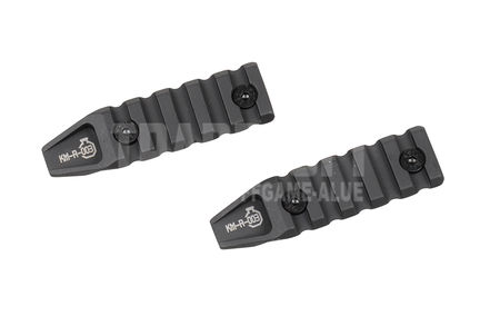 ARES KeyMod Rail Section, 2pcs (3 Inches/7.5 cm)