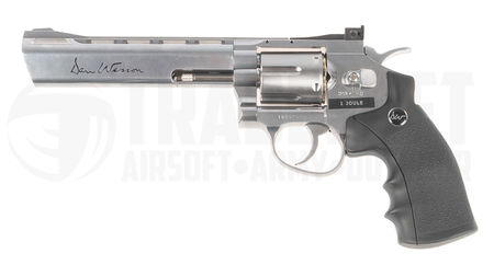 ASG Dan Wesson CO2 Revolver, Chrome (6 Inches), Low Power