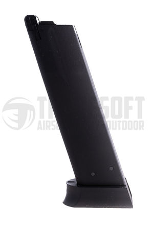 ASG/KJ Works GBB Gas Pistol Magazine for CZ 75 and SP-01 Shadow (26 Rounds)