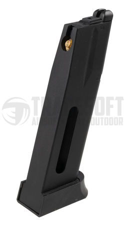 ASG/KJ Works GBB Gas Pistol CO2 Magazine for CZ 75 and SP-01 Shadow (26 Rounds)