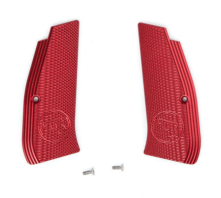 ASG Aluminum Grip Set, Red, ASG/KJ Works CZ SP-01 Shadow