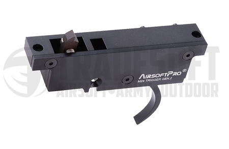 AirsoftPro 90 Degree Metal Trigger Group Assembly Gen. 2 for CYMA/Snow Wolf M24 (CM702)