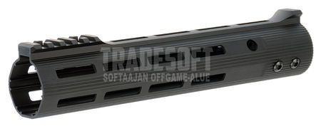 AS-Tac Aluminum M-LOCK EMR V2 Rail for M4/M16 Series, Black (10 Inches)