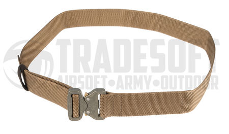 Bayonet  Combat Belt with Cobra Buckle, Coyote Brown