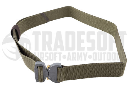 Bayonet Combat Belt with Cobra Buckle, Ranger Green