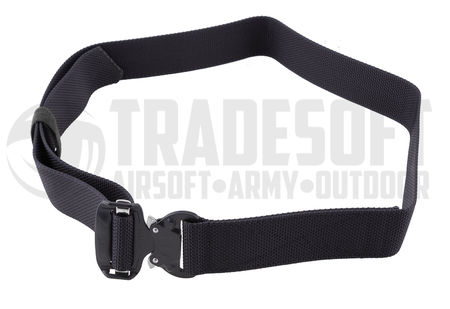Bayonet Combat Belt with Cobra Nautic Buckle, Black