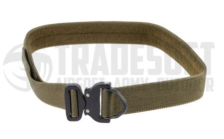 Bayonet Guardian Equipment Belt with Cobra Buckle, Ranger Green