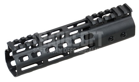Big Dragon Aluminum M-LOCK RAS Rail for M4/M16 Series, Black (7 Inches)