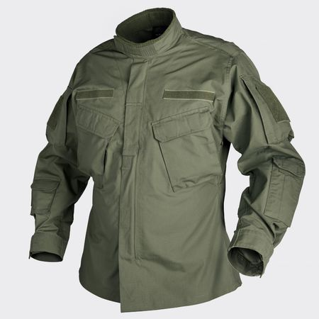 Helikon CPU Ripstop Military Uniform Jacket, Olive Green