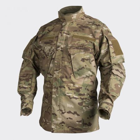 Helikon CPU Ripstop Military Uniform Jacket, Camogrom® (similar to Multicam)