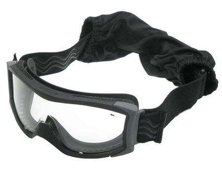 Bollé X1000 Standard Safety Goggles with Clear Lens, Black
