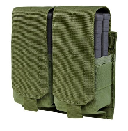 Condor Double Magazine Pouch for Four M14 Mags, OD