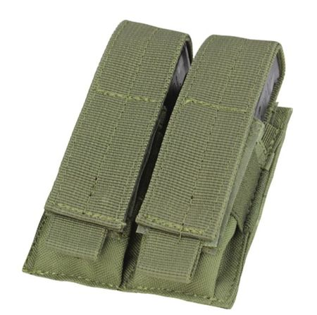 Condor Double Magazine Pouch for Two Pistol Mags, OD