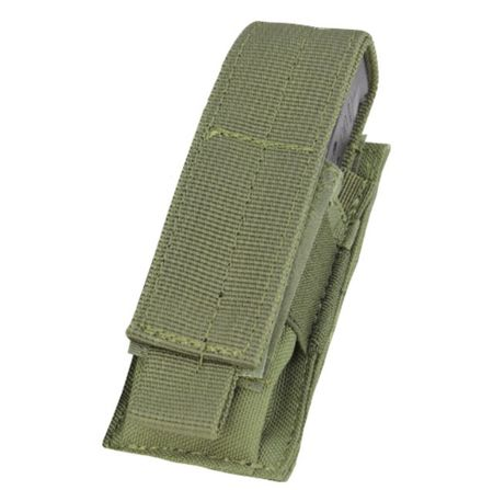 Condor Single Magazine Pouch for One Pistol Mag, OD