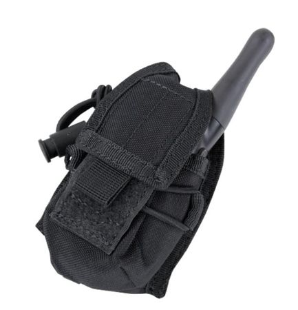 Condor MOLLE Radiophone/Utility Pouch, Black