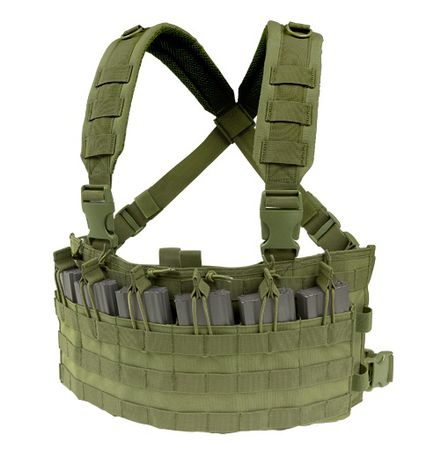 Condor Rapid Assault Chest Rig, OD