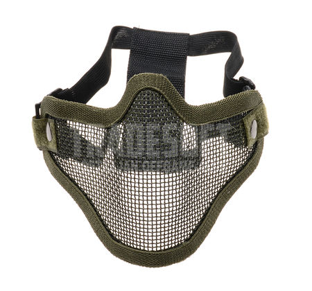 CS Defender Metal Mesh Lower Face Mask, Green