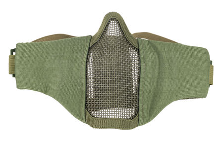 CS Padded Metal Mesh Lower Face Mask, OD