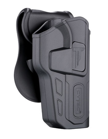 Cytac Hard Adjustable Holster with Paddle Platform for CZ SP-01 Shadow