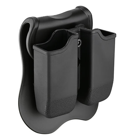 Cytac Hard Double Magazine Pouch for Two Pistol Mags, G17/18C/19/23F/34