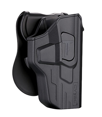 Cytac Hard Adjustable Holster with Paddle Platform for M&P9