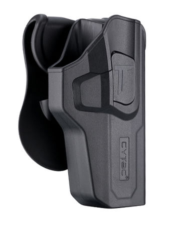 Cytac Hard Adjustable Holster with Paddle Platform for CZ P-07/P-09
