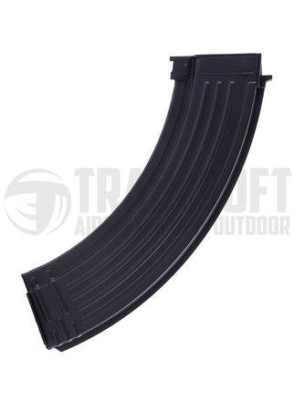 CYMA Metal Mid-Cap Magazine for AK/RPK Series, Black (180 Rounds)