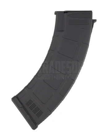 CYMA Polymer Mid-Cap Magazine for AK Series, Black (180 Rounds)