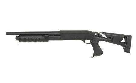 CYMA Remington Tactical Shotgun with Collapsible Stock (Full Metal), CM353M