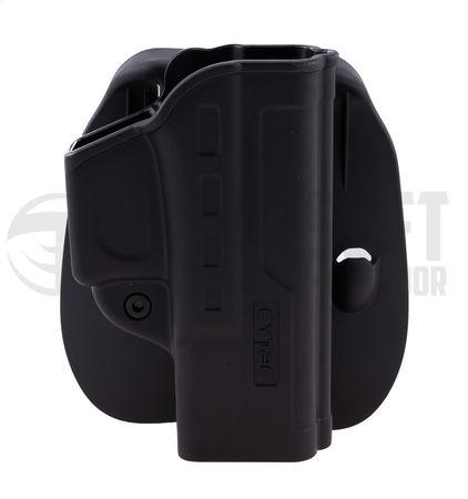 Cytac Hard Fast Draw Friction Holster with Paddle Platform for G19/G23F/G32