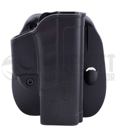 Cytac Hard Fast Draw Friction Holster with Paddle Platform for WE/KJW/Stark Arms G-Force/G17/23/34 (Airsoft Model)