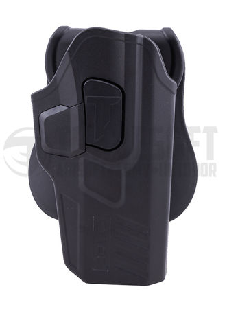 Cytac Hard Adjustable Holster with Paddle Platform for G17/18C/19/23F/34