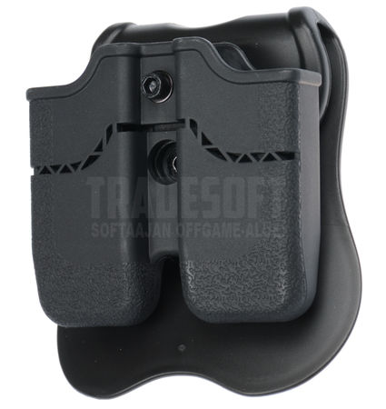 Cytac Hard  Double Magazine Pouch for Two Pistol Mags, M1911