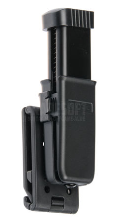 Cytac Hard Adjustable Magazine Pouch for One Pistol Mag, Openable Belt Loop