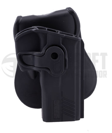 Cytac Hard Adjustable Holster with Paddle Platform for PT809/840/845 and PT24/7Pro/7G1