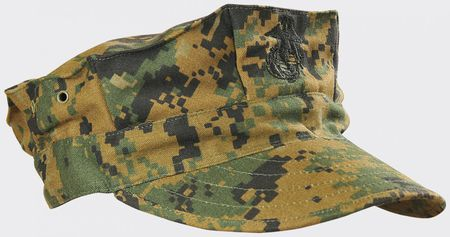 Helikon USMC Field Cap, Digital Woodland